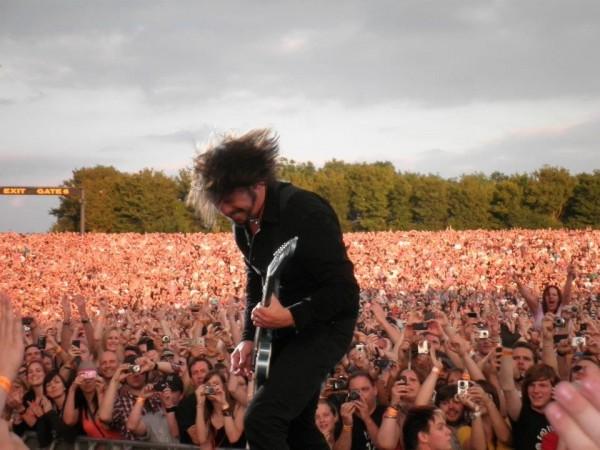 Foo Fighters Turneu 2011 (sursa foto: www.facebook.com/foofighters)