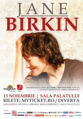 Jane Birkin la Bucuresti