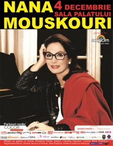 Nana Mouskouri la Bucuresti