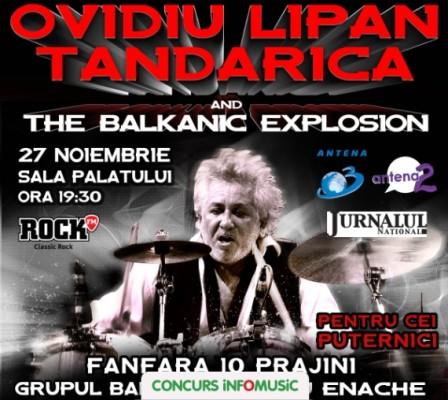 Castiga invitatii duble la concertul Ovidiu Lipan Tandarica
