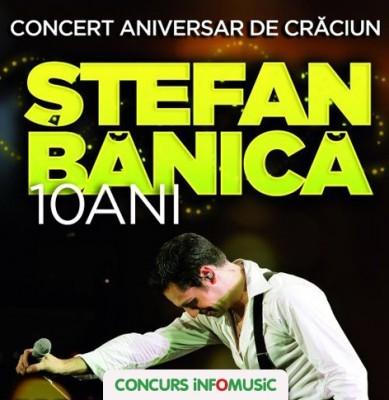 Castiga invitatii duble la concertul Stefan Banica Jr.