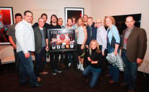 Foo Fighters premiu pentru 10 milioane de albume vandute!