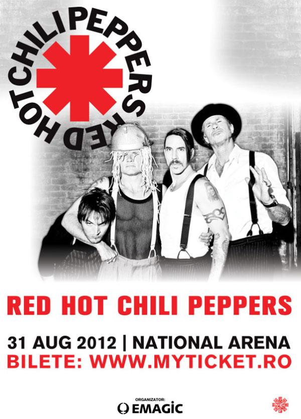 Red-Hot-Chili-Peppers va concerta la Bucuresti