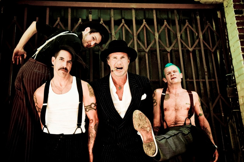 Red Hot Chilli Peppers va concerta la Bucuresti!