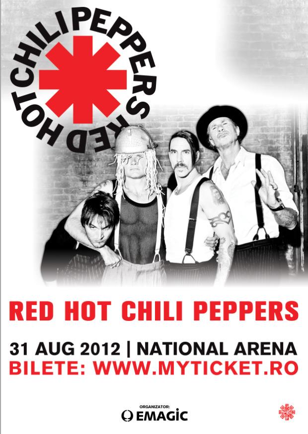 Red Hot Chili Peppers concerteaza la Bucuresti