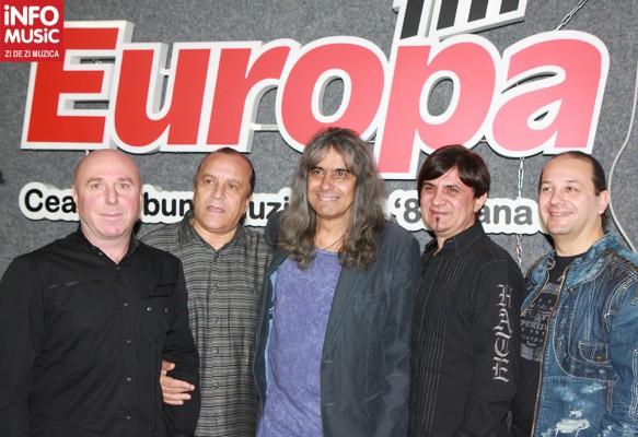 Trupa IRIS (Valter Popa, Nelu Dumitrescu, Cristi Minculescu, Boro, Relu Marin)