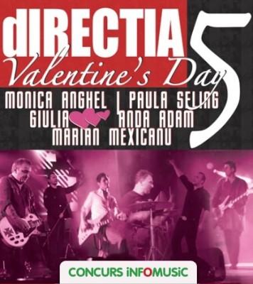 Castiga invitatii la concertul Directia 5 de valentines day