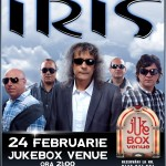 Iris concerteaza in jukebox
