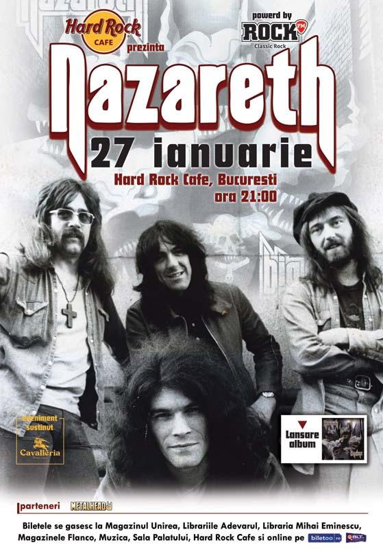 Nazareth la Bucuresti 2011
