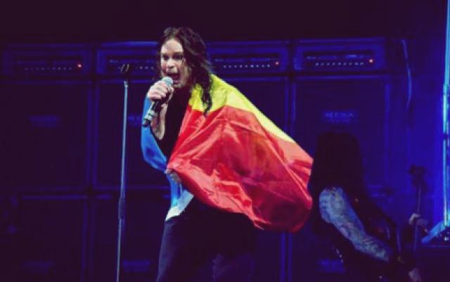 Ozzy Osbourne - live în București pe 2 octombrie 2010