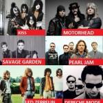 Povesti bizare despre numele trupelor rock!