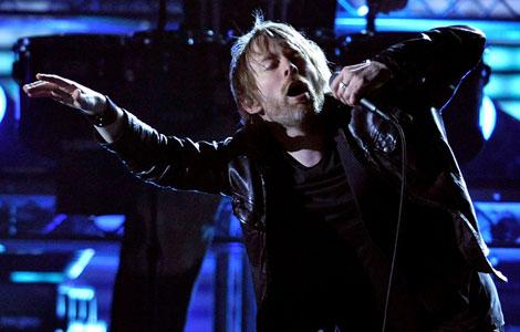 Thom Yorke, solistul Radiohead și creatorul proiectului Atoms for Peace