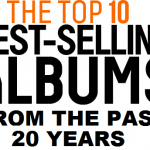 top 10 cele mai vandute albume din ultimii 20 de ani