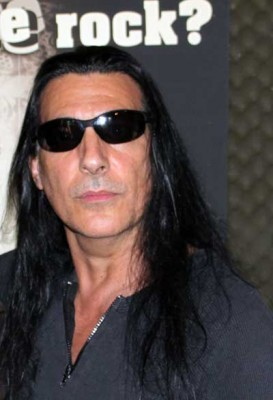 Joey DeMaio (MANOWAR) la CityFM pe 3 iulie 2009, la prima venire în România (Foto: Infomusic.ro)