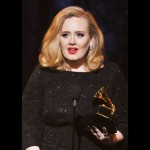 Adele - Grammy Awards 2012 (credit foto Getty)