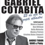 Gabriel Cotabita concerteaza la Sala Palatului