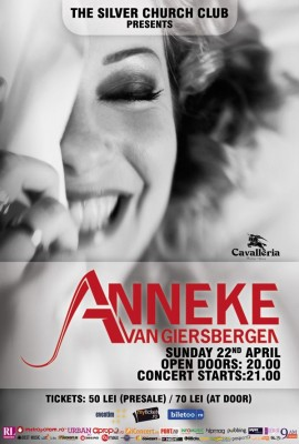 Poster eveniment Anneke Van Giersbergen