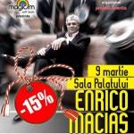 Bilete reduse la Enrico Macias