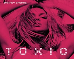 Coperta single Britney Spears - Toxic (sursa foto en.wikipedia.org)