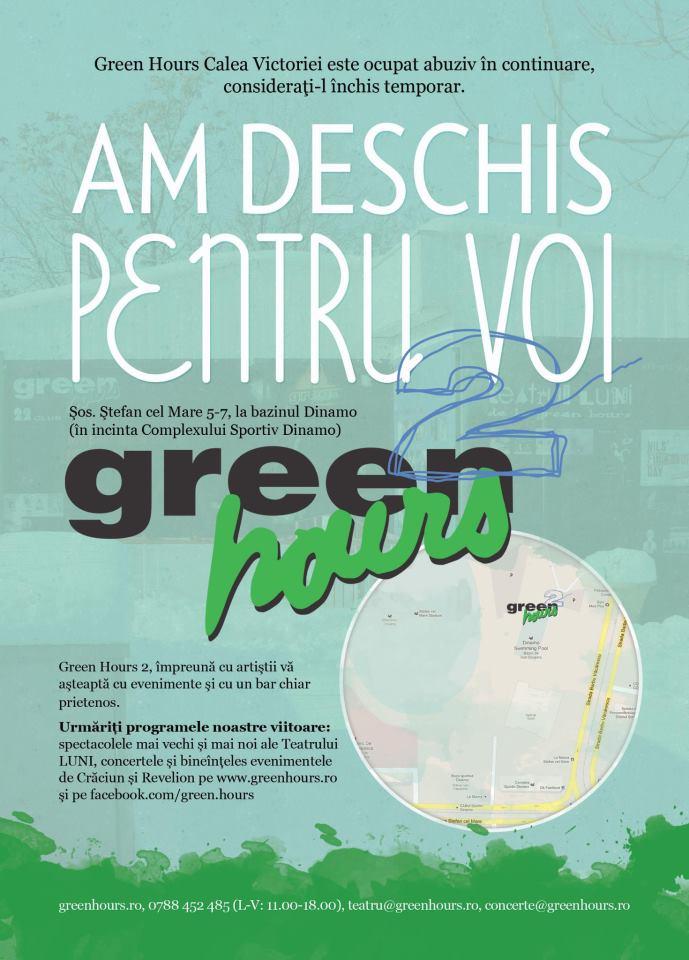 Green Hours 2 din Bucuresti