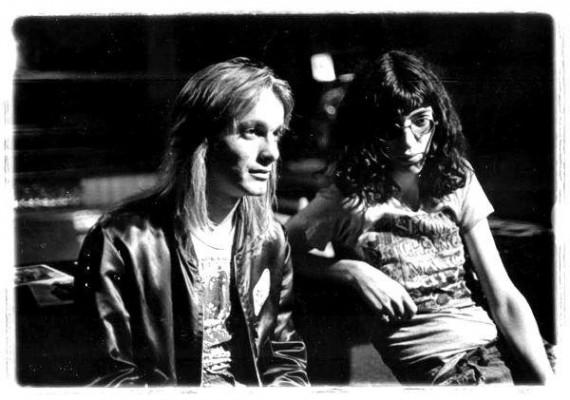 Joey Ramone & Cheap Trick (sursa foto www.facebook.com/joeyramone)