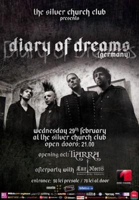 Diary of Dreams, live la The Silver Church