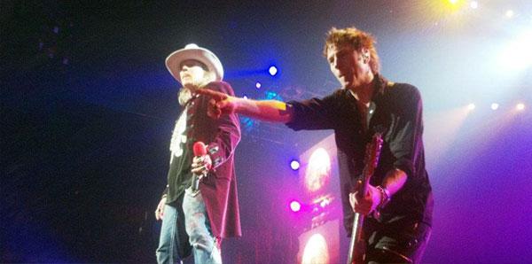 Guns N' Roses în concert