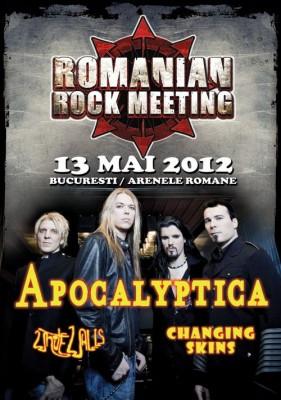 Apocalyptica va concerta la Bucuresti