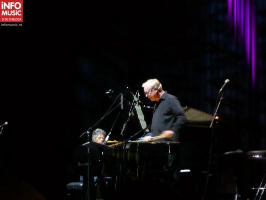 Concert Chick Corea si Gary Burton la Sala Palatului, 20 martie 2012