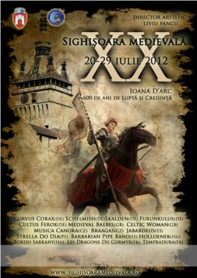 Festivalul Medieval de la Sighisoara 2012