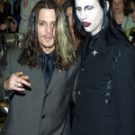 Johnny Depp si Marylin Manson