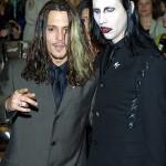 Johnny Depp si Marylin Manson