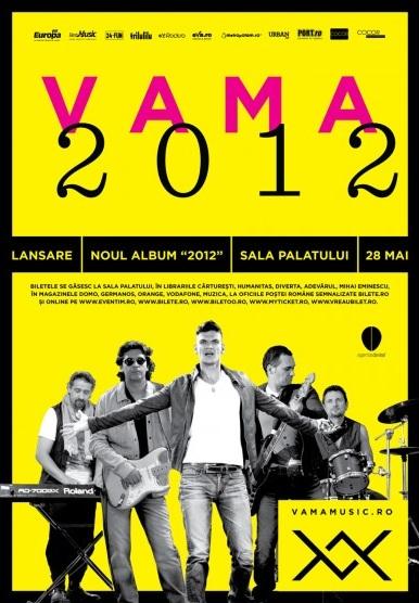 Vama - lansare album 2012