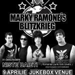 Marky Ramone concerteaza la Bucuresti