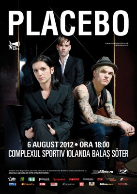 Poster eveniment Placebo