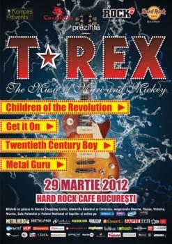 T-Rex-la Hard Rock Cafe