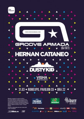 The Mission - Groove Armada Hernan Cattaneo Dusty Kid 31 03 2012