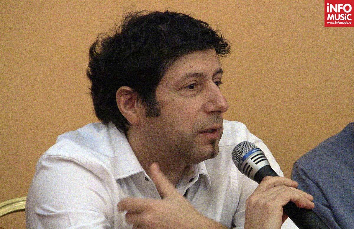 Sorin Dănescu în cadrul ultimei conferințe de presă susținute alături de Vița de Vie