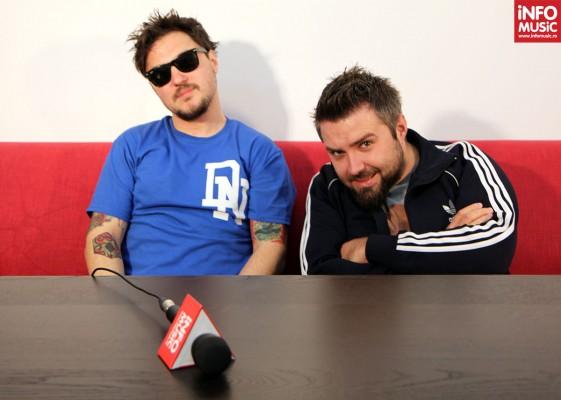 DJ Hefe și Dan Costea la InfoMusic.ro