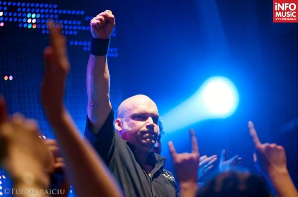 Blaze Bayley în concert la București pe 23 martie 2012