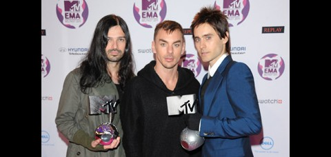 EMA 2011 - 30 Seconds To Mars