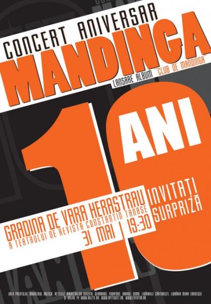 mandinga - concert aniversar de 10 ani