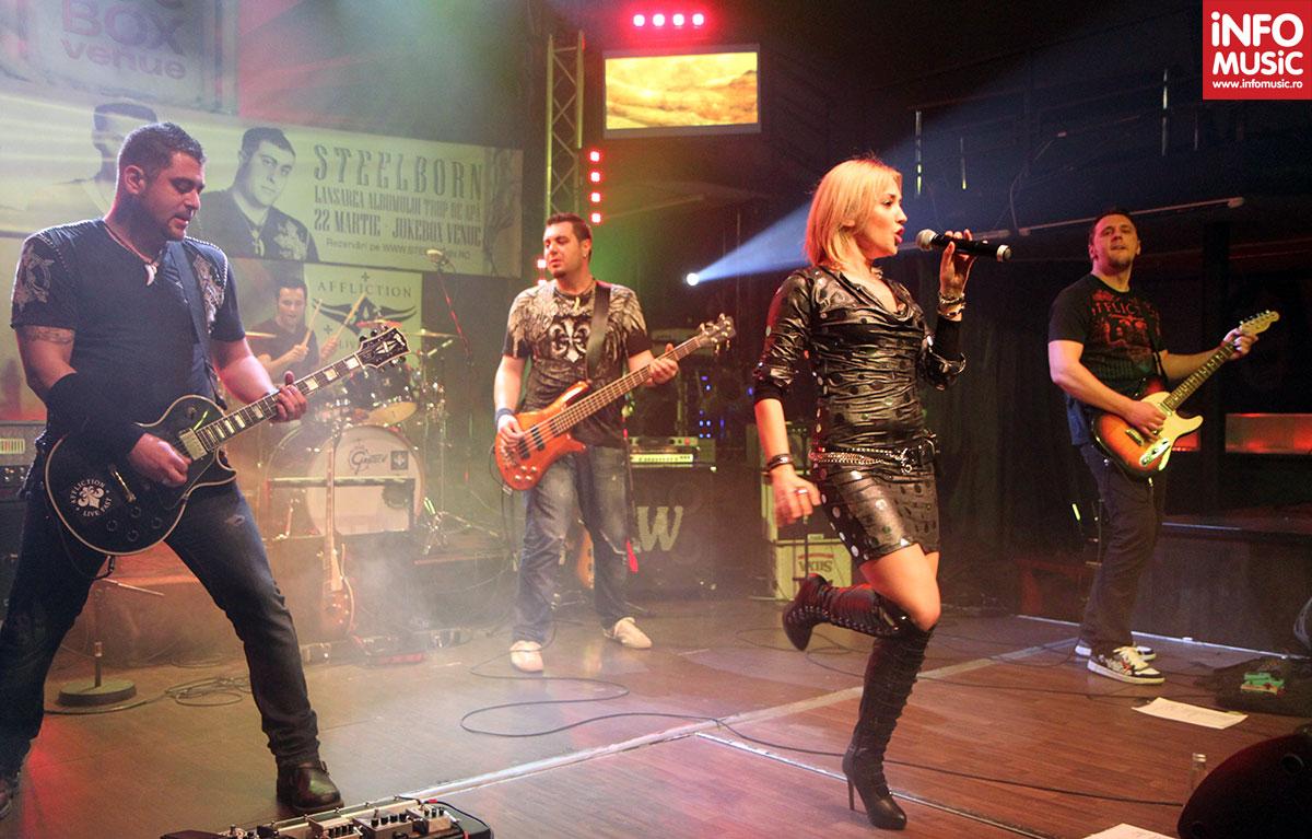 Steelborn în concertul de lansare Trup de apă (Jukebox, 22 martie 2012)
