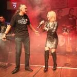 Cristi Hrubaru (ROCK FM) a susținut Steelborn în concertul de lansare a discului Trup de apă