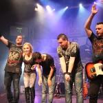 Steelborn la finalul concertului din Jukebox, 22 martie 2012