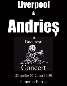 Alexandru Andries va concerta la CInema Patria