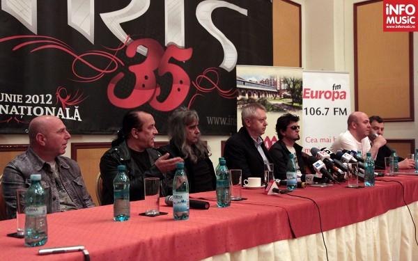Conferinta de presa IRIS - aniversare 35 de ani