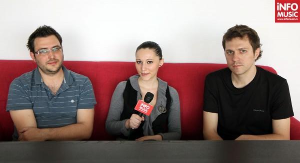 Dan Byron și Costin Oprea de la byron la InfoMusic.ro