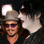 Johnny Depp și Marilyn Manson