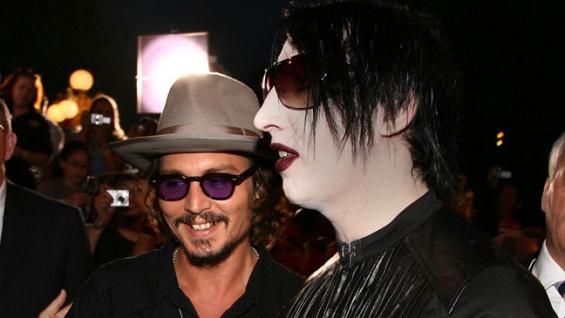 Johnny Depp și Marilyn Manson